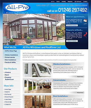 Website Design In Chesterfield - Self Maintained Websites