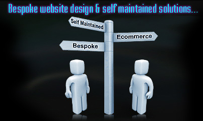 Self maintained website Designs Chesterfield Derbyshire